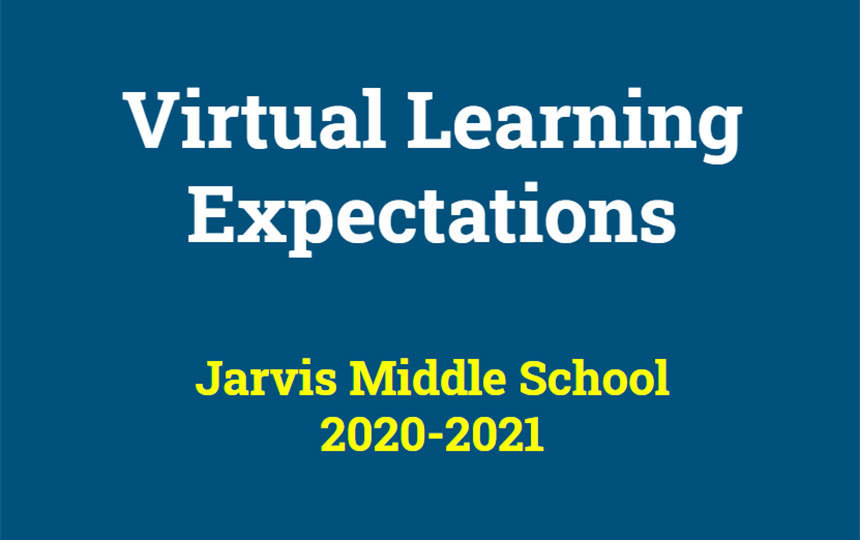 Jarvis releases expectations for virtual learners