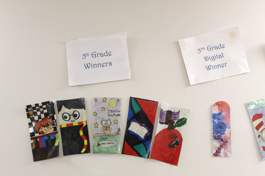 Jarvis library announces bookmark winners