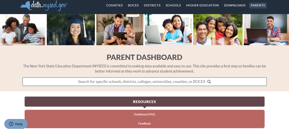 SED launches new parent dashboard